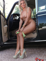 Blanca Brooke Gets Naked In A Rolls Royce