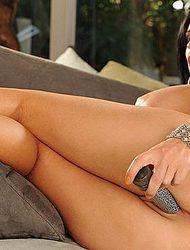 Jenna Presley Dildoing Her Moist Pussy