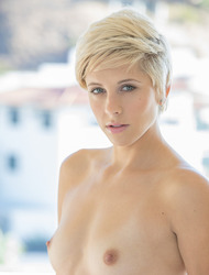 Short Haired Babe Makena Blue Gets Fucked From Behind
