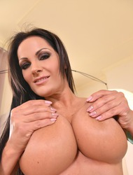 Sheila Grant Tries Her New Toy