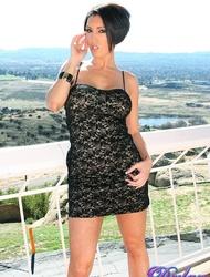 Dylan Ryder Sexy Black Dress
