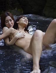 Mayuko and Saki by Hegre Art