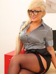 Kaitlin Grey Busty Secretary