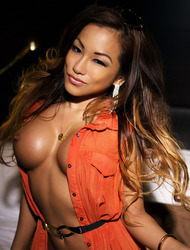 CJ Miles Busty Exotic Babe