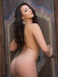 Busty Brunette Playmate Kelsi Shay