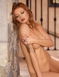 Busty Redhead Playboy Cybergirl Chandler South