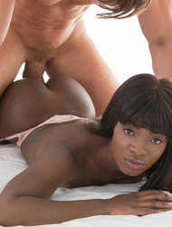 Perfect Ebony Babe Ana Foxxx Fucked In Sexy Black Stockings