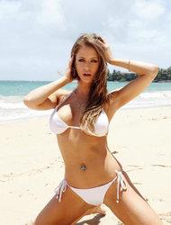 Emily Addison Naked On The Beach
