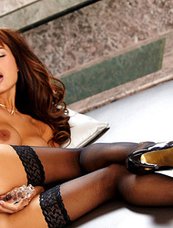 Roxanne Milana In A Hot Stocking