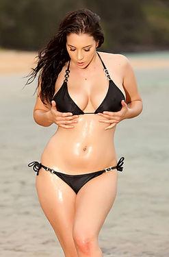 Jelena Jensen in Hawaii