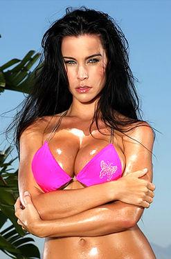 Pink Scrunch Bottom Bikini