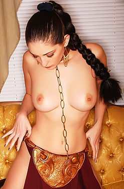 Carlotta Champagne slave