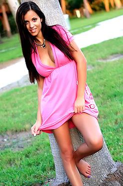 Janessa Brazil In Pink