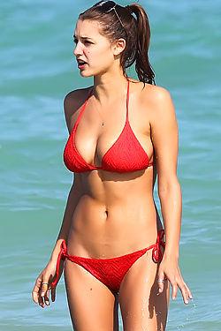 Alyssa Arce Bikini Candids