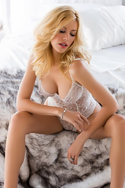 Kennedy Summers In Transparent Lingerie