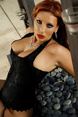 Stella Styles Black Corset