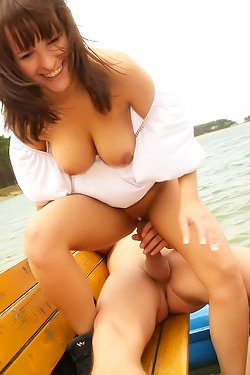 Hardcore Sex By The Lake