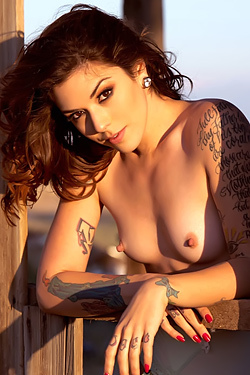 Tattooed Girl Kayla-Jane Danger