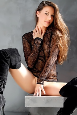 Stunning Brunette Lorena