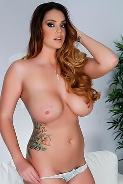 Alison Tyler Shows Off Her Big Boobies
