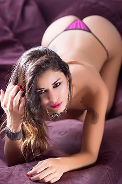 Vanessa Alvar Long Sexy Legs