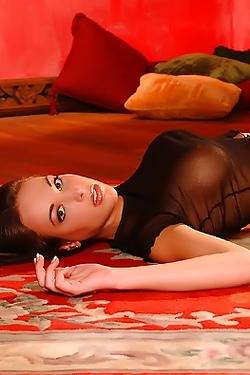 Dame Jenelle Elson On Red Comfy Carpet