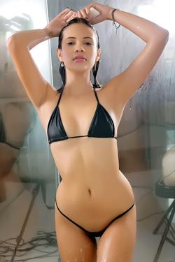 Kiara In Sexy Skimpy Bikini