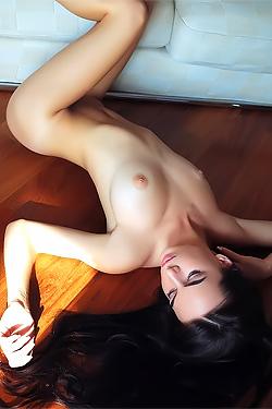 Debora Naked On The Floor