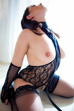 Lea Lexis In Sexy Black Lace