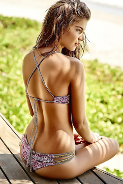 Gabriela Salles In Sexy Bikini