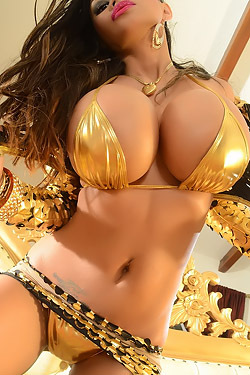 Busty Armie In Bikini