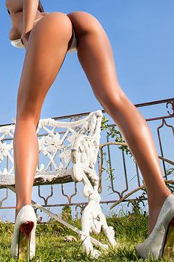 Sexy Legs Of Mareeva