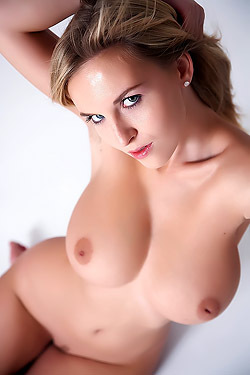 Busty Chikita Naked In The Studio