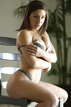 Round Assed Babe Abella Danger Gets Naked