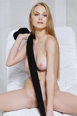 Gorgeous blue-eyed blonde Nancy A